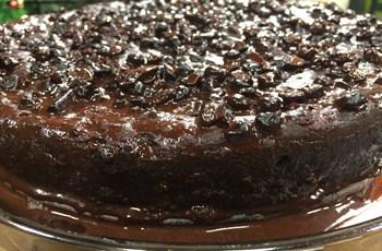 Balkabaklı ve Çikolatalı Islak Kek