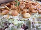 Çıtır Yufkalı Tavuklu Kabak Salata