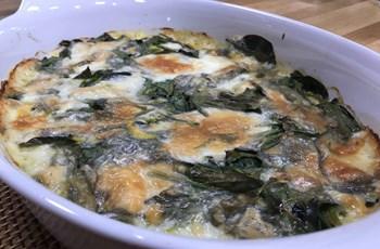 Fırında Mozzarellalı Sebzeli Tart