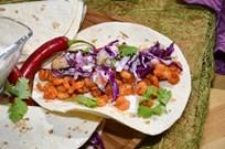 Karidesli Baharatlı Taco