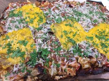 Karnabaharlı Ekmek Pizza