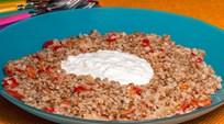 Kırmızı Biberli Karabuğday Pilavı