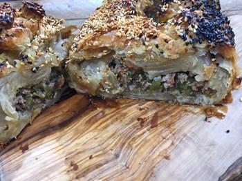 Kıymalı Milföy Ekmek