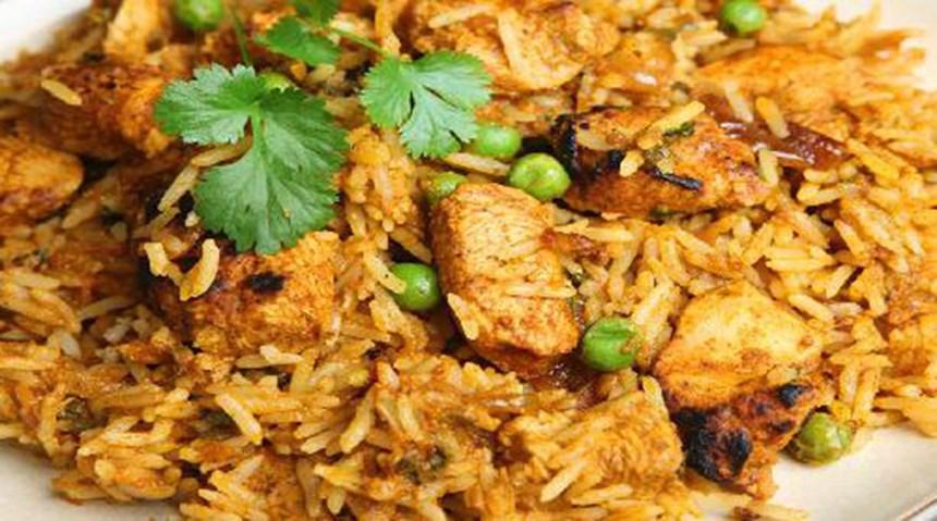 Shahi Tavuk Biryani