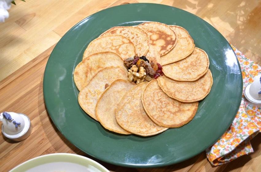 Tam Buğdaylı Kahvaltılık Pankek