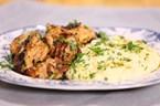 Baharatlı Tavuk & Sarımsaklı Patates Püresi