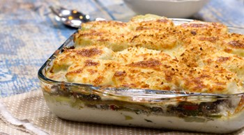 Kremalı Mantarlı Patates