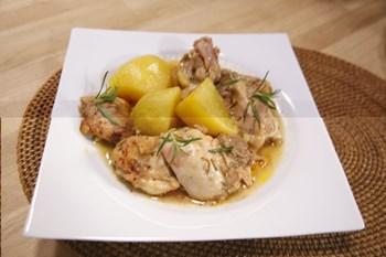 Acı & Tatlı Tavuk Tarifi (Fırın Patates ile)