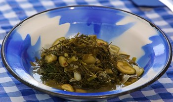 Arapsaçlı Zeytinyağlı Çağla Yemeği Tarifi