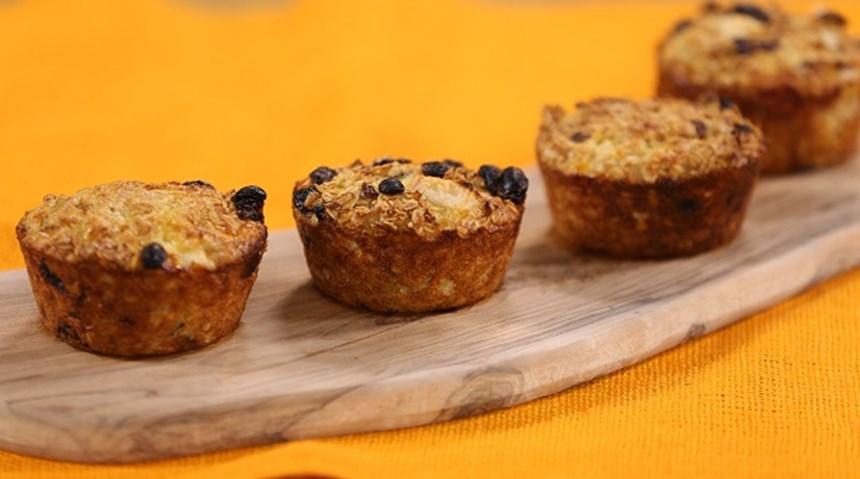 Armutlu Yulaflı Muffin