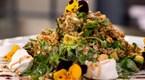 Keçi Peyniri, Avokado ve Karabuğdaylı Semizotu Salatası
