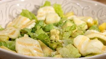 Avokadolu Hellim Salatası