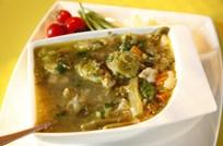 Avusturya Usulü Sebze Çorbası