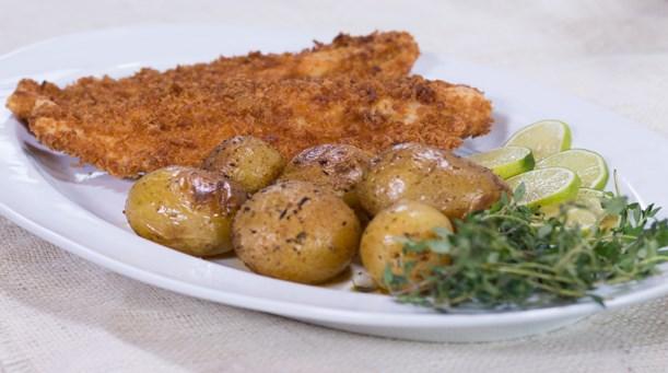 Balık Pane & Baharatlı Patates