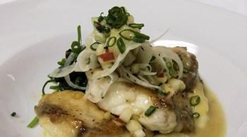 Kirazlı Mayonez ile Fener Balığı Sote