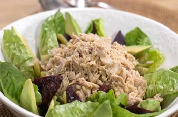 Balıklı Bahar Salatası