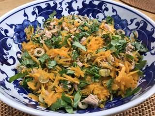 Balkabaklı Ton Balıklı Salata