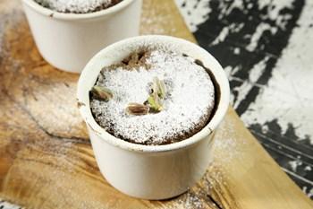 Beyaz Çikolatalı Orman Meyveli Sufle