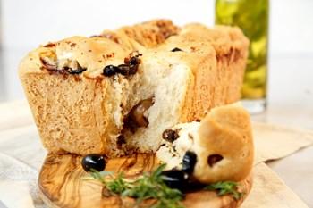 Beyaz Peynir ve Zeytinli Ekmek