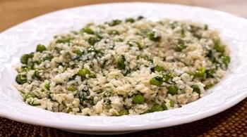 Bezelyeli Esmer Pirinç Pilavı
