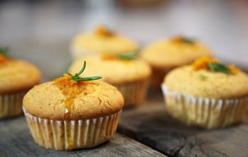 Biberiye ve Portakallı Muffin