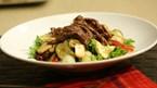 Biftekli Sıcak Salata Tarifi