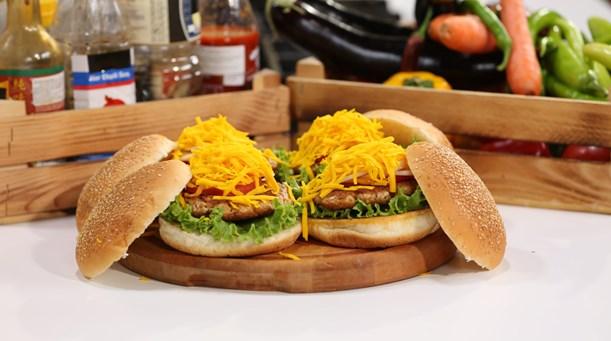 Bol Peynirli Çıtır Burger Tarifi