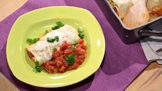 Brokoli Dolgulu Kepekli Lazanya Ruloları (Çocuk Menüsü)