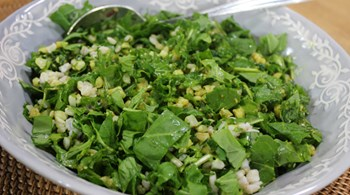 Buğdaylı Roka Salatası