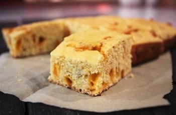 Çedar Peynirli Mısır Ekmeği