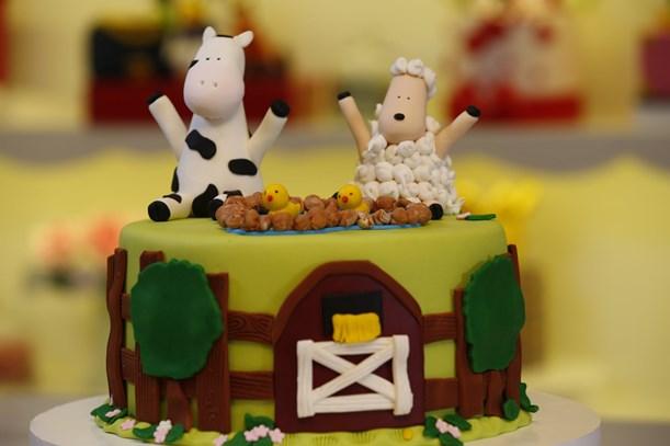 Çiftlik Temalı Pasta Tarifi