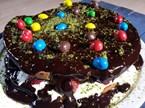 Çikolata Soslu Pandispanya Tarifi