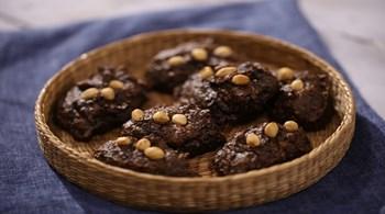 Çikolatalı Avokado Kurabiye