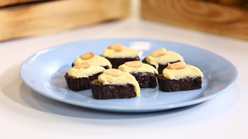 Çikolatalı Bademli Nugat