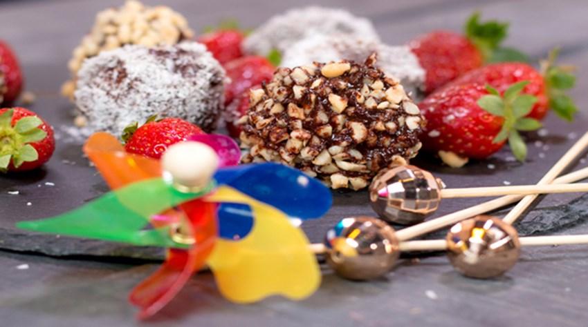 Çikolatalı İrmik Topları