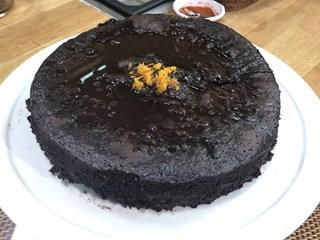 Çikolatalı ve Kajulu Kek