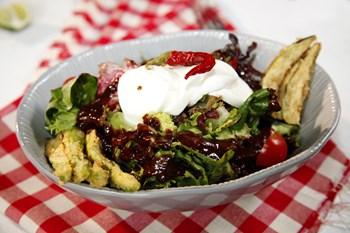 Çıtır Sebzeli Salata