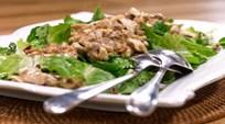 Çıtır Tavuklu Tatlı & Ekşi Soslu Salata