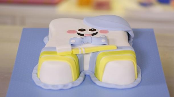 Diş Temalı Pasta