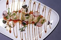 Domates Tartar İle Deniz Tarağı Ceviche