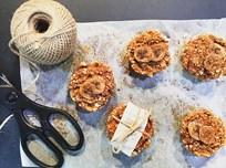 Elma Muz ve Kinoalı Mini Muffin Tarifi