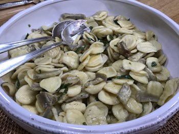 Enginarlı Orecchiette