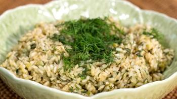 Esmer Pirinç Pilavı