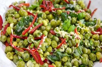 Fesleğenli Bezelye Salatası
