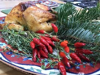 Fırında Nar Ekşili Tavuk