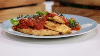 Fırında Parmesanlı Tavuk Tarifi