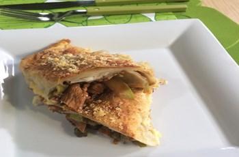 Fırında Tavuklu Çin Böreği Tarifi