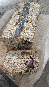 Glutensiz Zeytinli Ekmek