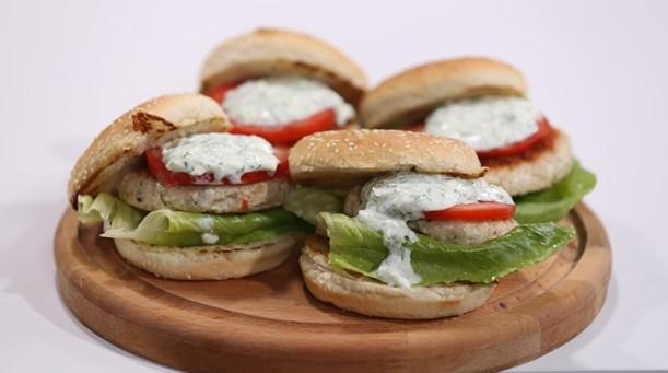 Grek Burger Tarifi