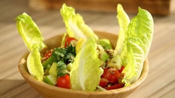 Hardal Soslu Elma Salatası
